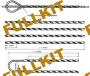 Спиральные зажимы ( вязки )  серии HC-A-20kN