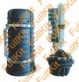 Оптические муфты типа FOSC-400A8 DC FK на  96 волокона