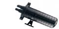 Оптические муфты типа  FOSC-400A4 FK-72 на 72 волокона